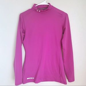 Under armour long sleeved fitted cold gear